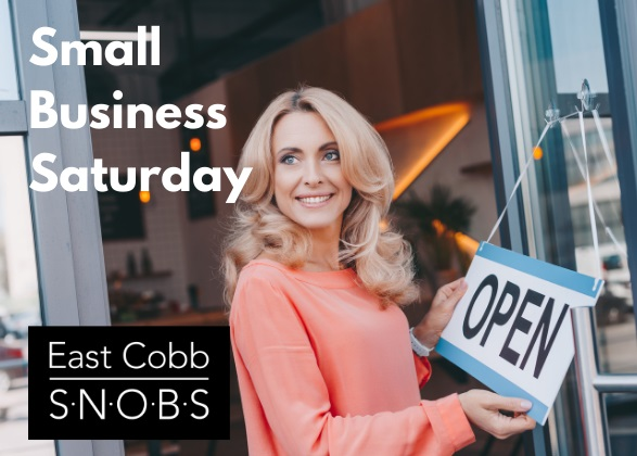 Support small business Saturday in East Cobb.